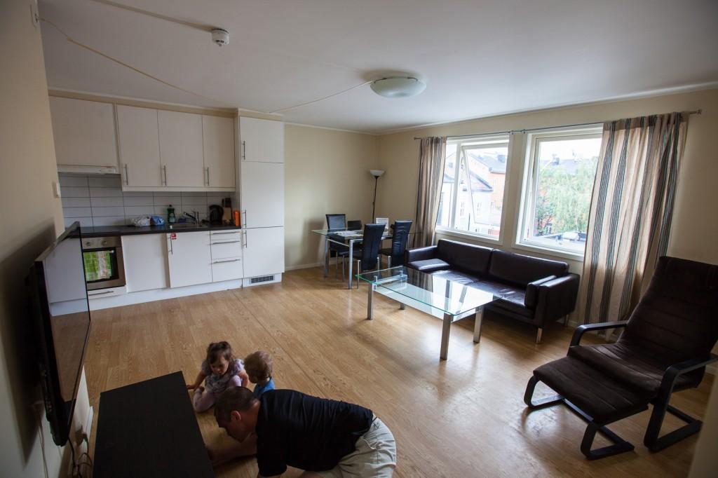 Grüner Apartment